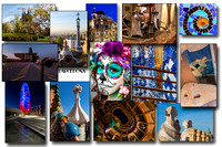 A compilation of images from Barcelona