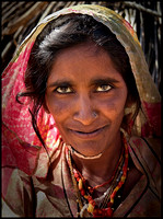 Woman from tribal Rajasthan
