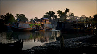 Early morning on the river Sittwe