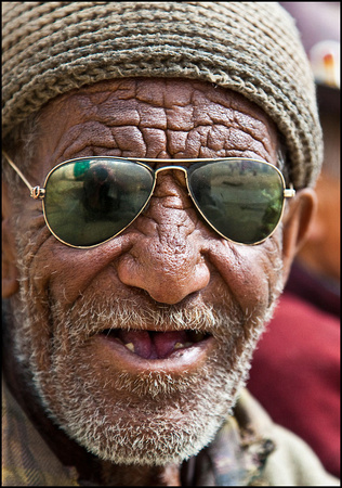 Old man from ladakh