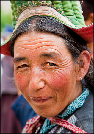 Lady from Ladakh