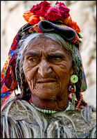 Elderly lady from Ladakh